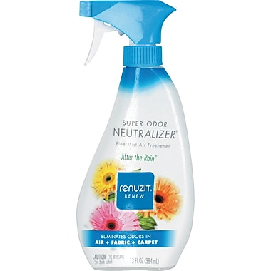 Renuzit® Super Odor Neutralizer® Fabric Spray, After The Rain®, 13 oz.