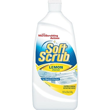 Soft Scrub Cleanser, Lemon, 38 oz.