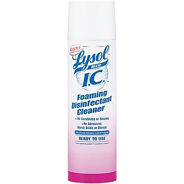 Lysol I.C. Foaming Disinfectant Cleaner, Fresh, 24 oz.