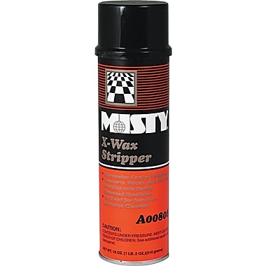 Misty X-Wax Floor Stripper, 18 oz.