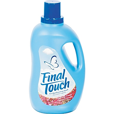 Phoenix Final Touch Liquid Fabric Softener, Spring Fresh, 120 oz.