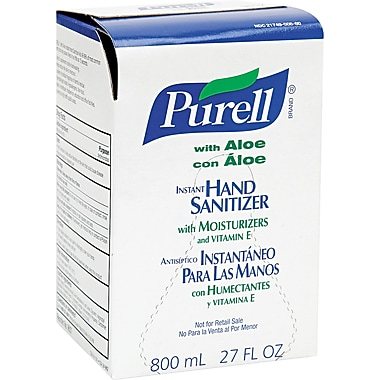 Purell® Instant Hand Sanitizer, Floral, Green, 800 ml Refill