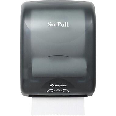 Sofpull Mechanical Dispenser, Smoke Black, 16 7/10