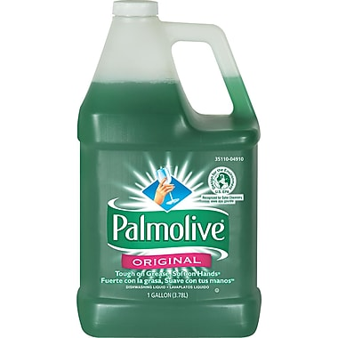 Palmolive® Dishwashing Liquid, Original Scent, 1 gal Plastic Bottle