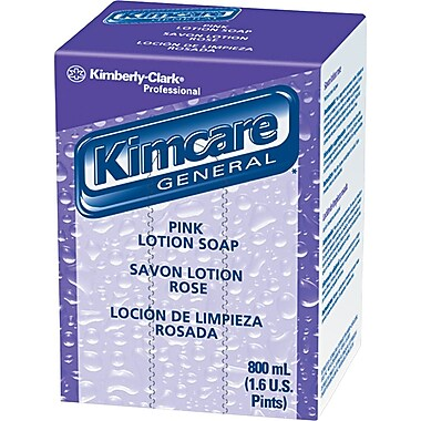Kimcare Lotion Skin Cleanser, Peach, Refill, 800 ml