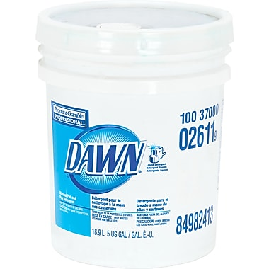 Dawn® Dishwashing Liquid, Original Scent, 5 gal Pail
