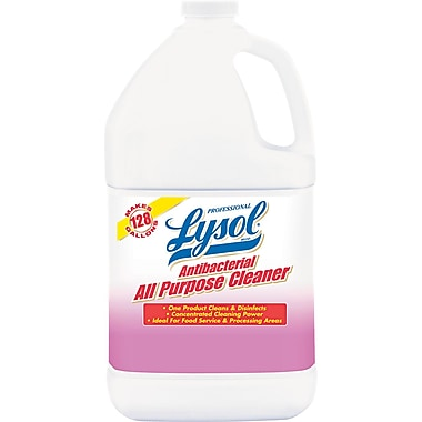 Professional Lysol® Antibacterial All-Purpose Cleaner, 1 gal, 4/Case