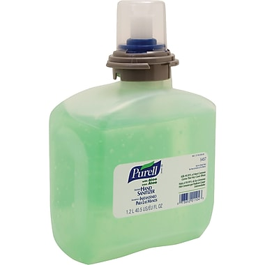 Purell Advanced TFX™ Instant Hand Sanitizer, Fragrance-Free, Clear, 1200 ml Refill