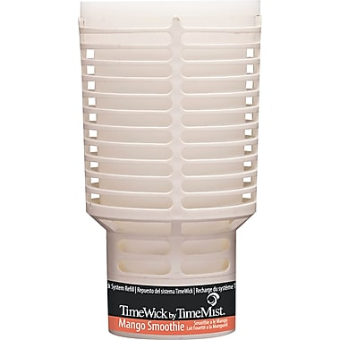 TimeMist  TimeWick Air Dispenser, Mango Smoothie, Clear, 1.217 oz. Refill
