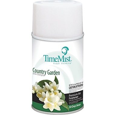 TimeMist Metered Fragrance Dispenser Refill, Country Garden, 6.6 oz. Aerosol Can