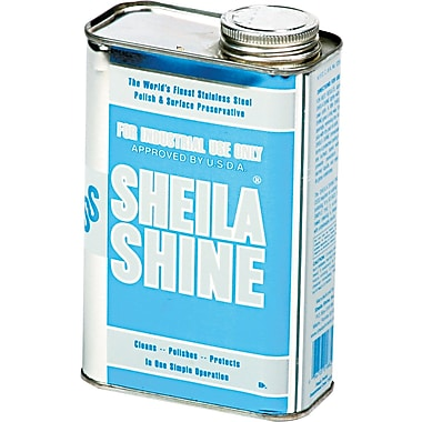 Sheila Shine Stainless Steel Cleaner & Polish, 1 qt.