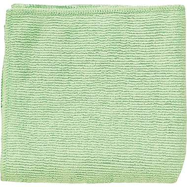 Unisan Microfiber Reusable Wipe, Unscented, Green