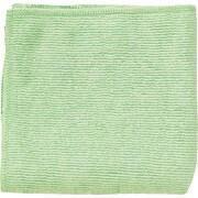 Unisan Microfiber Reusable Wipe, Unscented, Green