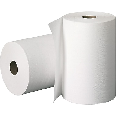 Scott® Hardwound Paper Towel Roll, White, 1-Ply, 12 Rolls/Case