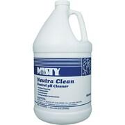Misty Neutra Clean Floor Cleaner, Citrus, 1 gal Bottle