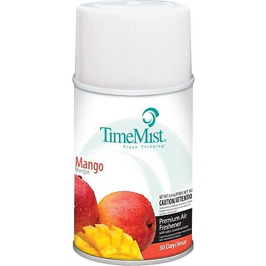 TimeMist Metered Fragrance Dispenser Refill, Mango, 6.6 oz. Aerosol Can