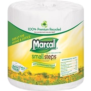 Marcal Small Steps 100% Premium Recycled Bathroom Tissue, 2-Ply, 80 Rolls/Case