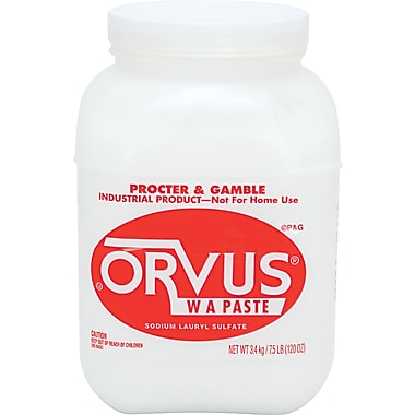 Orvus  W A Paste Gentle Cleaner, 7.5 lbs. Bottle, 4/Ctn