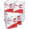 Kimberly-Clark® Wypall® X70 Hydroknit Wipe, Unscented, White, 16.8in.(W) x 9.1in.(L)
