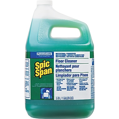 Spic and Span Liquid Floor Cleaner, 1 gal