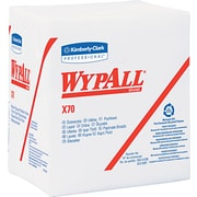"Kimberly-Clark  Wypall  X70 Hydroknit Wipe, Unscented, White, 13""(W) x 12 1/2""(L)"