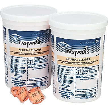 Easy Paks  Neutral Cleaner For Floors, Pine Forest, 0.5 oz. Packets, 90/Tub, 2 Tubs/Ctn