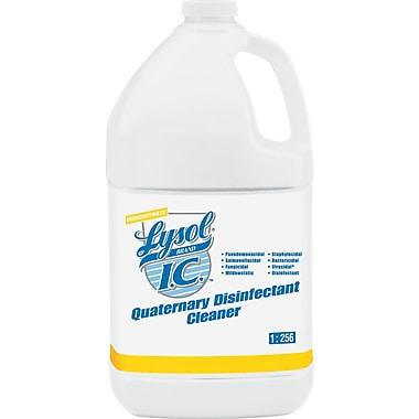 Lysol® I.C.™ Quaternary Disinfectant Cleaner, Original Scent, 1 gal., 4/Case