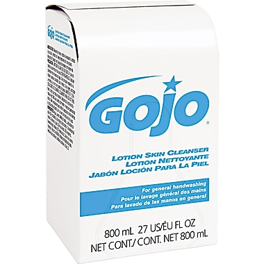 GOJO Lotion Skin Cleanser Refill, 800 ml, 12/Case