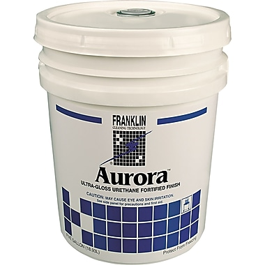Franklin Cleaning Technology  Aurora Floor Finish, Fresh, 5 gal.