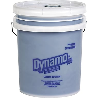 Phoenix Brands Dynamo Industrial-Strength Detergent, Unscented, 5 gal Pail