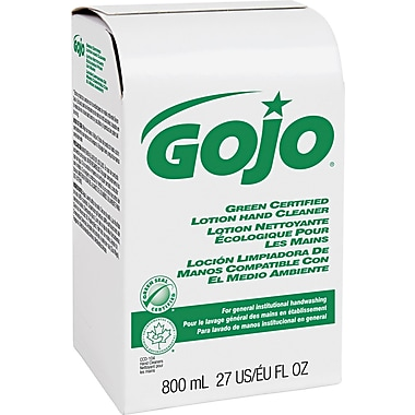 Gojo Green Certified Lotion Hand Cleaner Refill, 800 ml