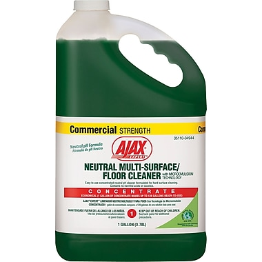 Ajax  Expert™ Neutral Multi-Surface/Floor Cleaner, Citrus, 1 gal Bottle