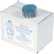 Fresh Products Drop-In Non-Para Urinal Deodorizer Block , Unscented , Blue