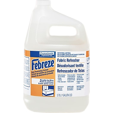 Febreze Fabric Refresher & Odor Eliminator, Fresh Clean, 1 gal.