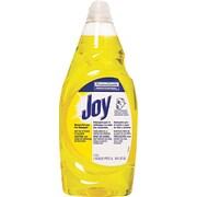 Joy® Dishwashing Liquid, Lemon, 38 oz. Bottle, 8/Case