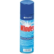 Windex ® Powerized Glass Cleaner With Ammonia-D ®, Unscented, 20 oz. Aerosol Can