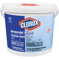 Clorox Germicidal Tissue Wipe, White, 12in.(W) x 12in.(L), 110/Canister