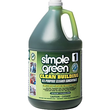 Simple Green Clean Building All-Purpose Cleaner Concentrate, Unscented, 1 gal