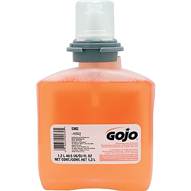 GOJO TFX™ Premium Foam Antibacterial Handwash Soap, Fresh Fruit, 1200 ml Refill
