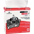Brawny Industrial Medium-Duty Premium DRC Wipes, 90 Wipes/Box