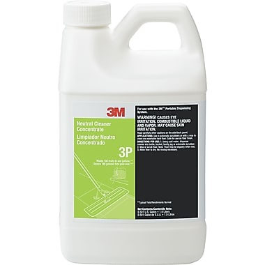 3M Neutral Cleaner Concentrate 3P, Fresh, 1.9 Liters, 6/Case