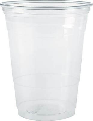 SOLO  PETE Ultra Clear Translucent Cold Cup, 10 oz., 1000/Carton 870589