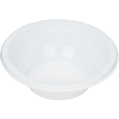 Tablemate® Plastic Bowl, 5 oz., White, 125/Pack