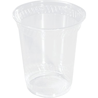 NatureHouse® Corn Plastic Cold Cup, 10 oz., Clear, 50/Pack