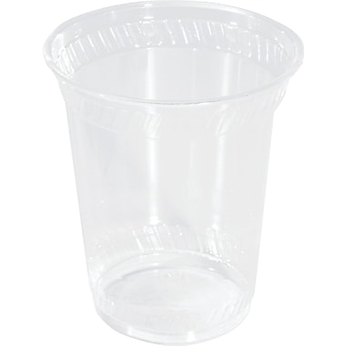 NatureHouse® Corn Plastic Cold Cup, 16 oz., Clear, 50/Pack