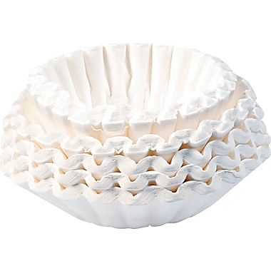 Bunn® Flat Bottom Shape Paper Coffee Filter for Commercial Coffee Makers, 10 - 12 Cup, 1000/Carton