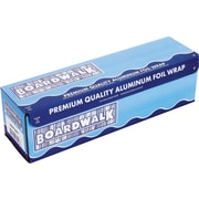 "Boardwalk® Heavy-Duty Aluminum Foil Roll, 18""(W) x 500'(L), Silver"