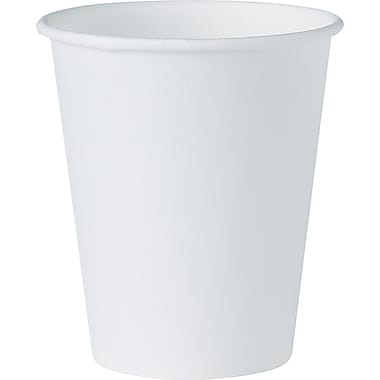 Solo ® Paper Water Cup, 4 oz., White, 100/Pack