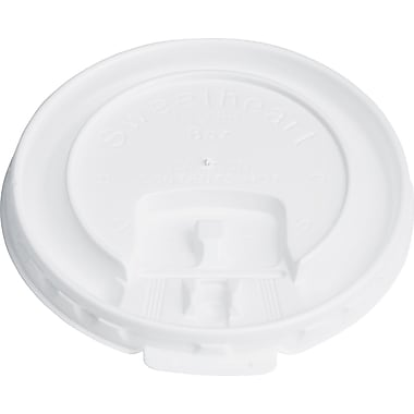 SOLO® Liftback & Lock Tab Lids for Trophy Hot Cup, 8 oz., 2000/Case