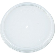 Dart ® Plastic Vented Lid for 6 oz. Hot/Cold Foam Cups, White, 1000/Carton